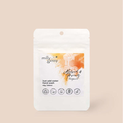 Milly & Sissy - Hand Wash Refill - Almond & Honey 500ml | The Ideal Sunday