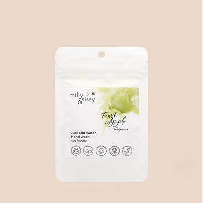 Milly & Sissy - Hand Wash Refill - Fresh Apple 500ml | The Ideal Sunday