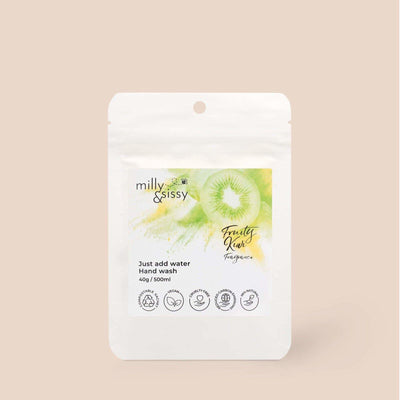 Milly & Sissy - Hand Wash Refill - Fruity Kiwi 500ml | The Ideal Sunday