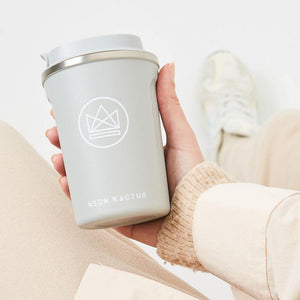 Neon Kactus - Insulated Coffee Cup - 12oz/380ml | The Ideal Sunday