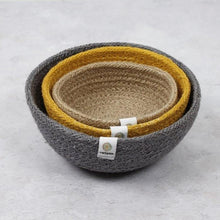Load image into Gallery viewer, ReSpiin - Jute Mini Bowl Set | The Ideal Sunday