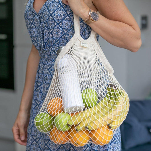 Green Island - Organic Cotton String Bag | The Ideal Sunday
