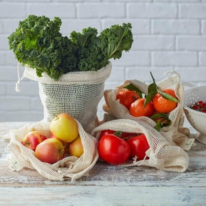 ecoLiving - Organic Produce Bags - 3 Pack | The Ideal Sunday