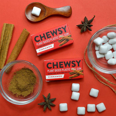 Chewsy - Plastic Free Chewing Gum - Cinnamon | The Ideal Sunday
