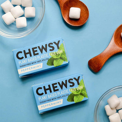 Chewsy - Plastic Free Chewing Gum - Peppermint | The Ideal Sunday