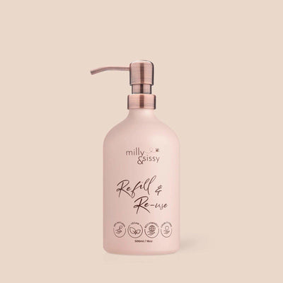 Milly & Sissy - Refill & Reuse Aluminium Bottle | The Ideal Sunday