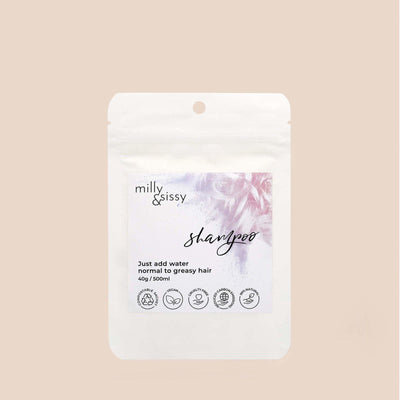 Milly & Sissy - Shampoo Refill - Normal / Greasy Hair 500ml | The Ideal Sunday