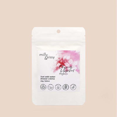 Milly & Sissy - Shower Crème Refill - Cherry Blossom 500ml | The Ideal Sunday