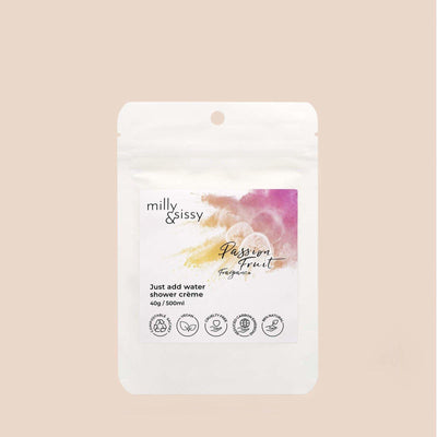 Milly & Sissy - Shower Crème Refill - Passion Fruit 500ml | The Ideal Sunday