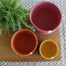 Load image into Gallery viewer, ReSpiin - Tall Jute Mini Bowl Set | The Ideal Sunday