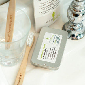 ecoLiving - Toothpaste Tablets & Refillable Tin | The Ideal Sunday