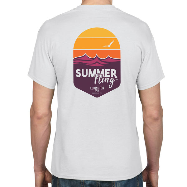 Summer Fling Unisex Sunset Tee