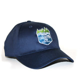 Ludington Bay Brewing Co. Embroidered Cap - Navy
