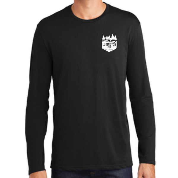 Ludington Bay Brewing Co. Men's D'Booty Long Sleeve Shirt