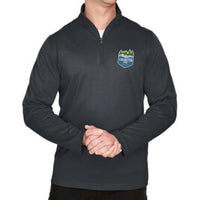 Ludington Bay Brewing Co. Men's 1/4-Zip Pullover - Dark Charcoal