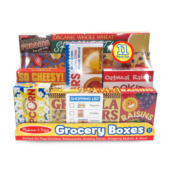 Grocery Shelf Boxes