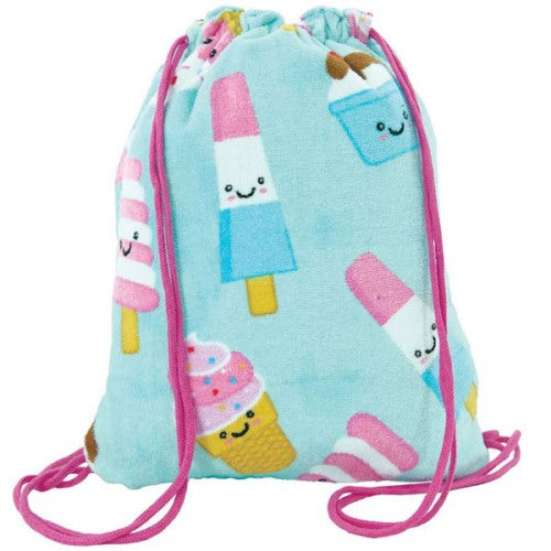 Ice Cream Treats Towel Backpack