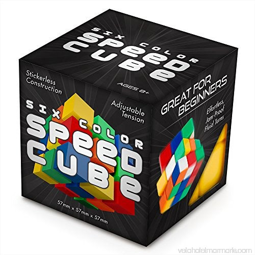 Six Color Speed Cube
