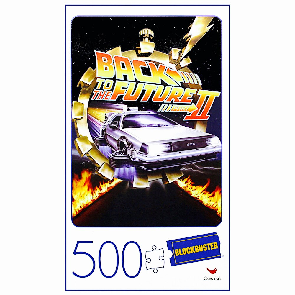 Back to the Future II 500 Piece