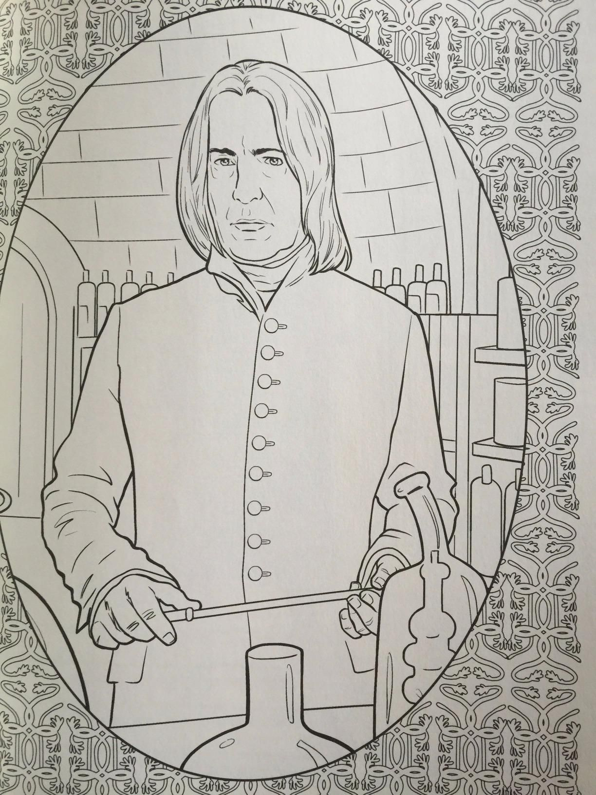 HP Magical Places Coloring Book