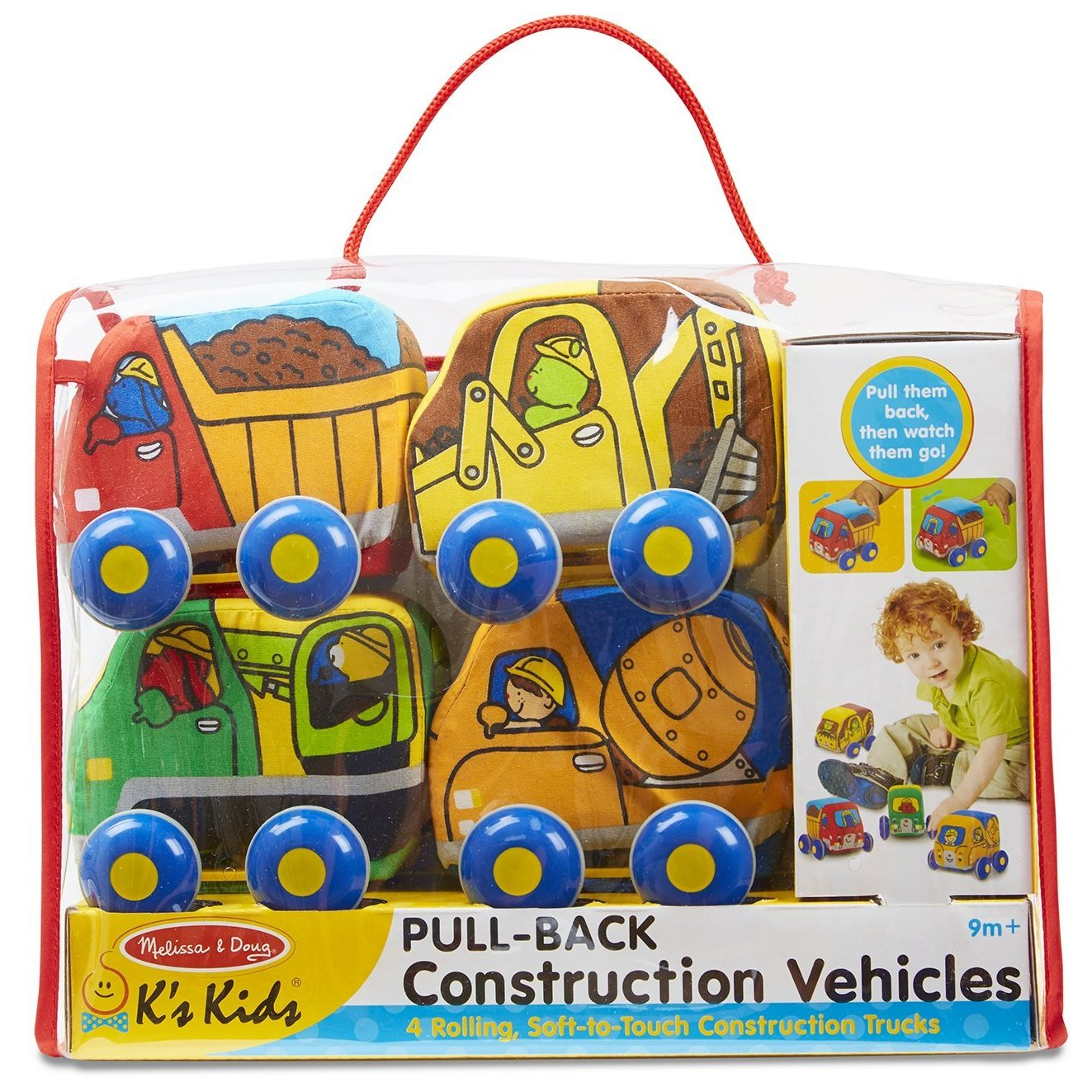 Pull-Back Construction Vehicles