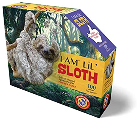 I Am Lil' Sloth 100 Pieces