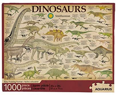 Dinosaurs Smithsonian Puzzle