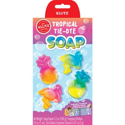 Tropical Tie-Dye Soap Kit