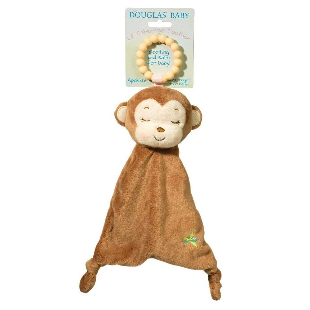 Monkey Lil' Sshlumpie Teether