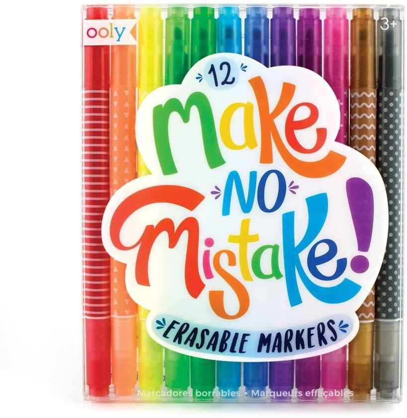 Make No Mistake! Erasable Marke
