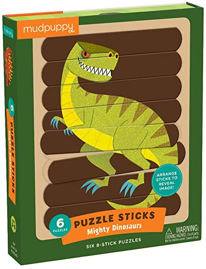 Mighty Dinosarus Puzzle Sticks