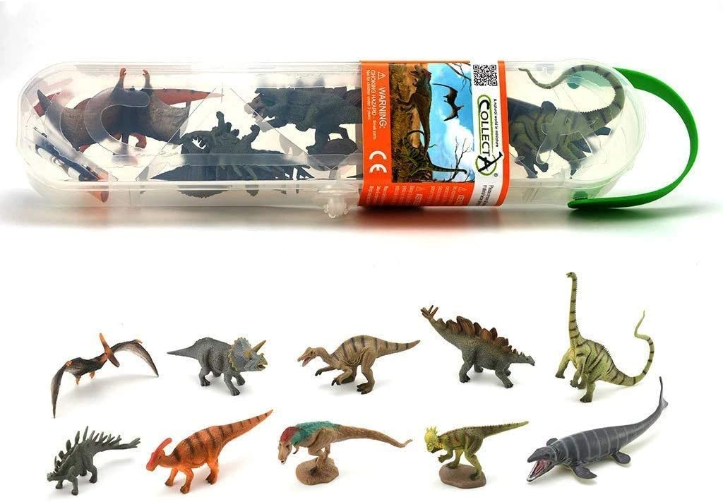Box of Mini Dinosaurs