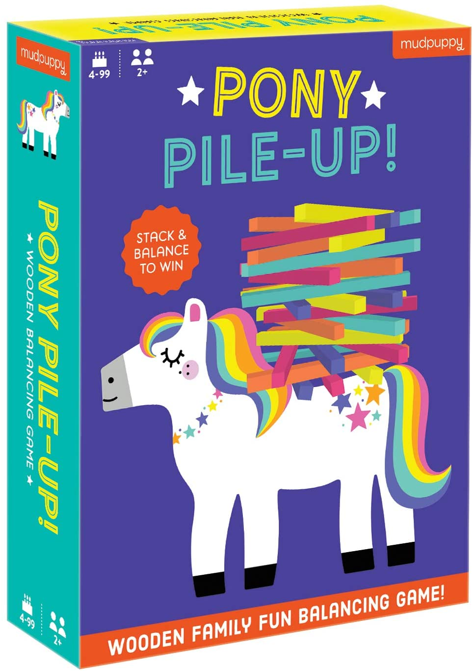 Pony Pile-up! Stack & Balance