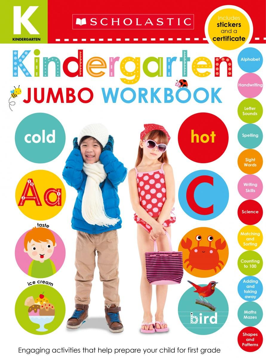 Kindergarten Jumbo Workbook
