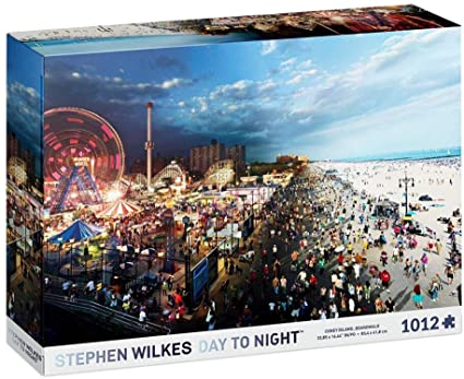Coney Island Day to Night Puzzl