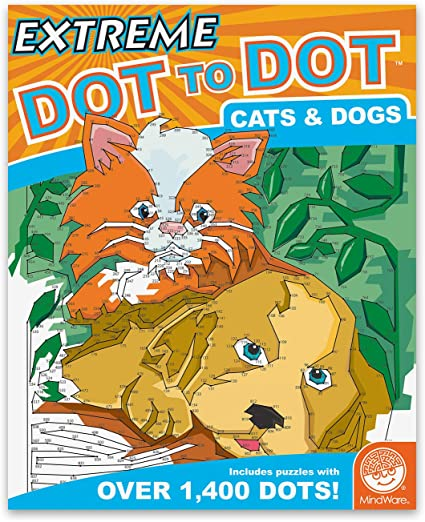 Extreme Dot to Dot Cats and Dog