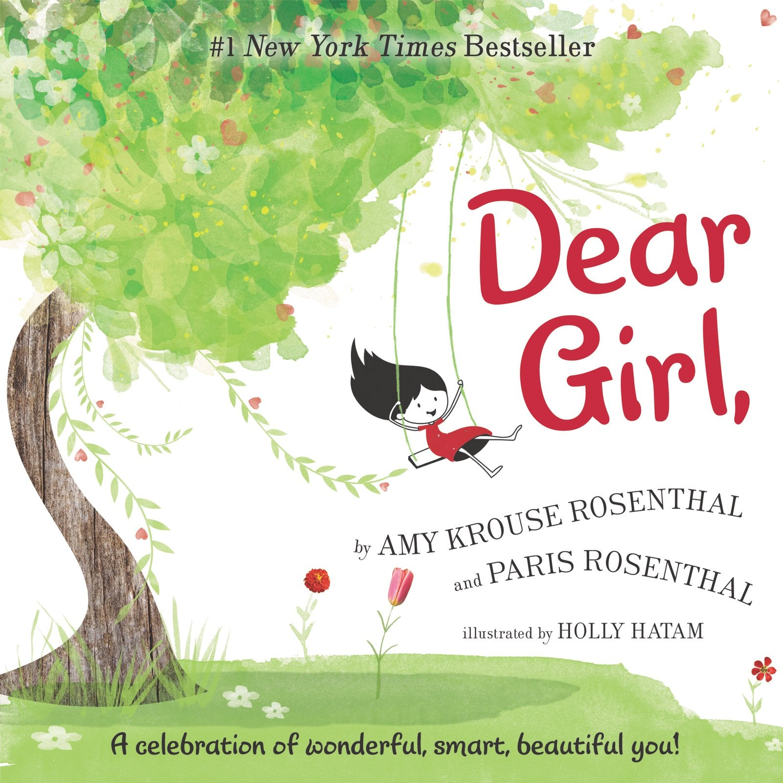 Dear Girl,  a Celebration of Wonderful, Smart, Beautiful You