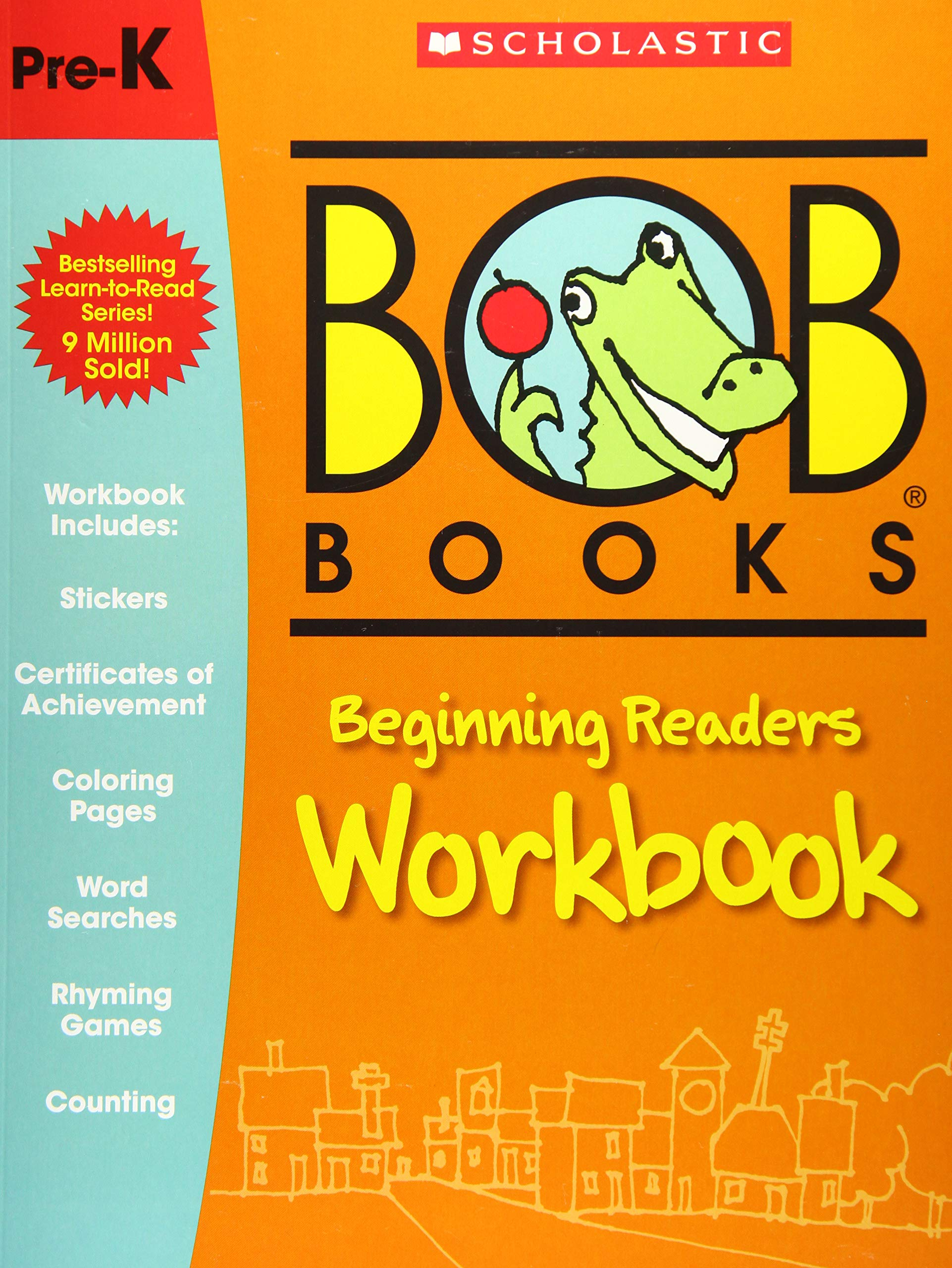 Bob's Books PreK Workbook