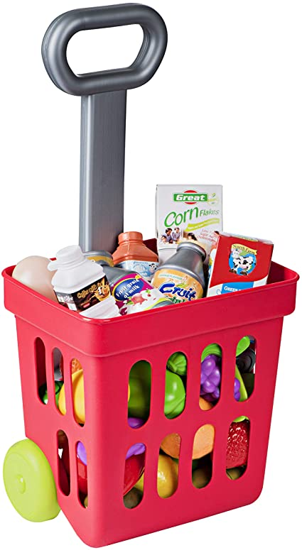 Fill and Roll shopping cart