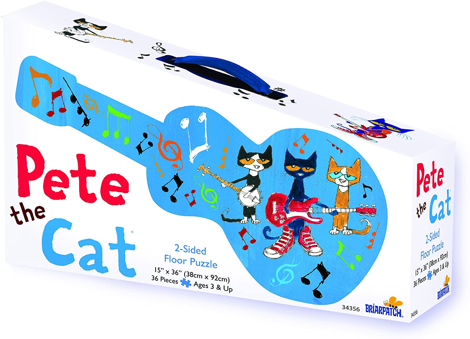 Pete the Cat 2 Sided Floor Puzz