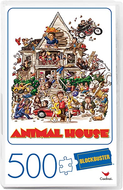 Animal House 500 Piece Puzzle