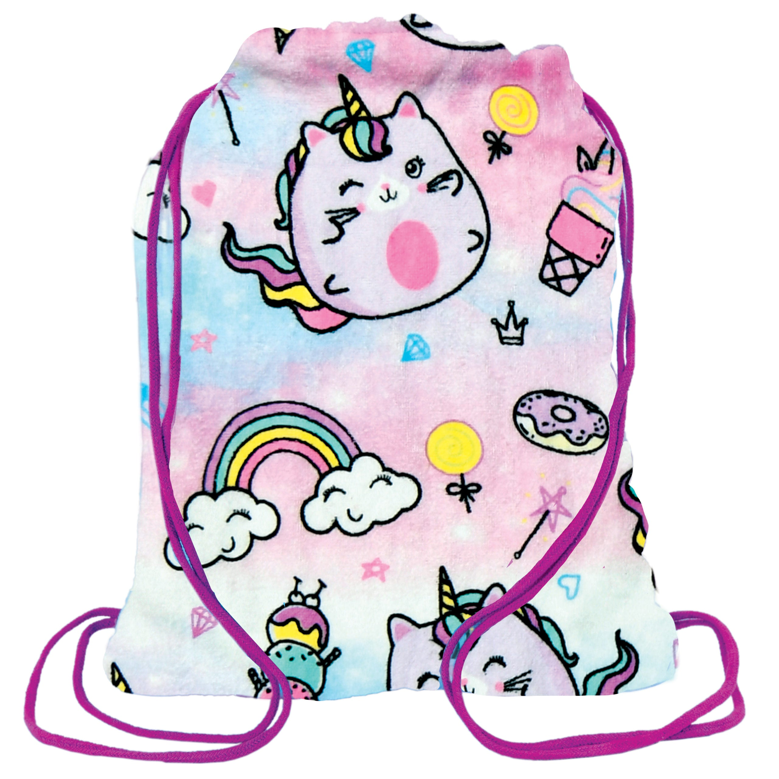 Caticorn Towel Backpack