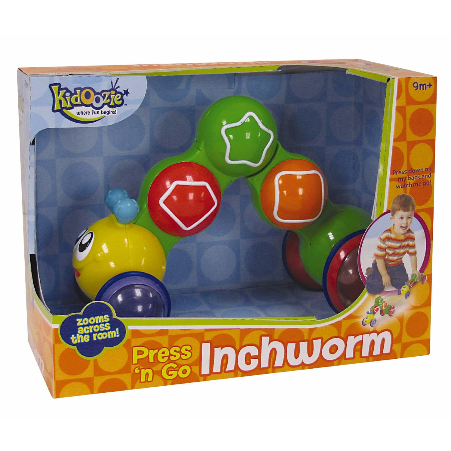 Press and Go Inch Worm