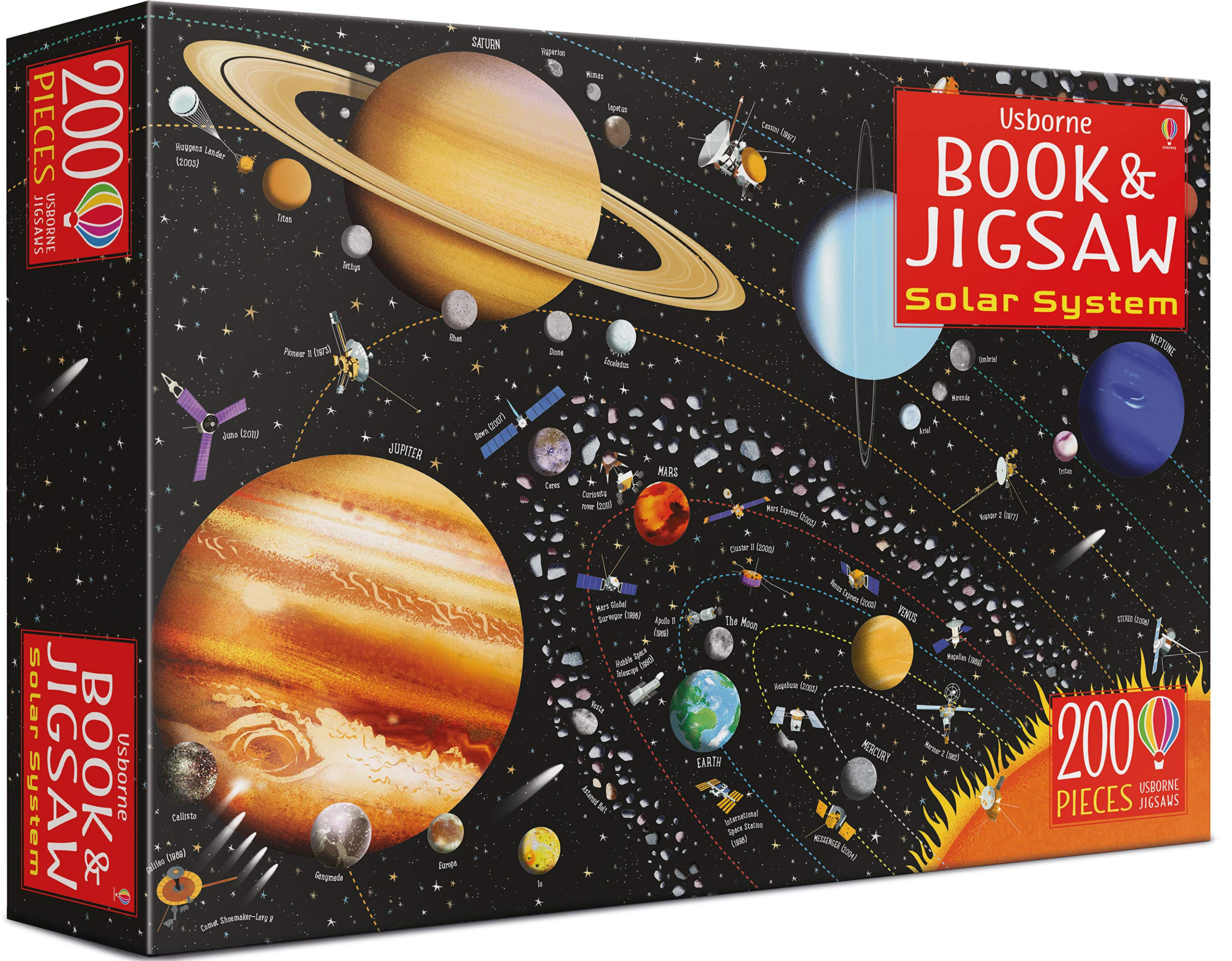 Solar System Book & Puzzle
