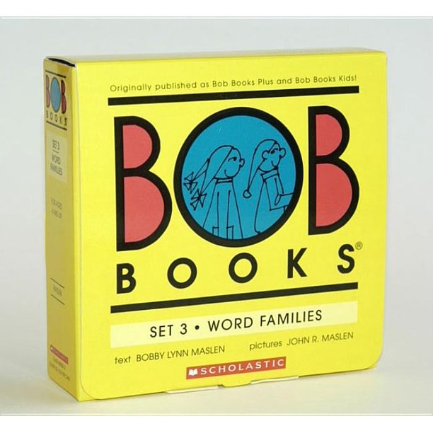 Bob Books Set 3 Word Families