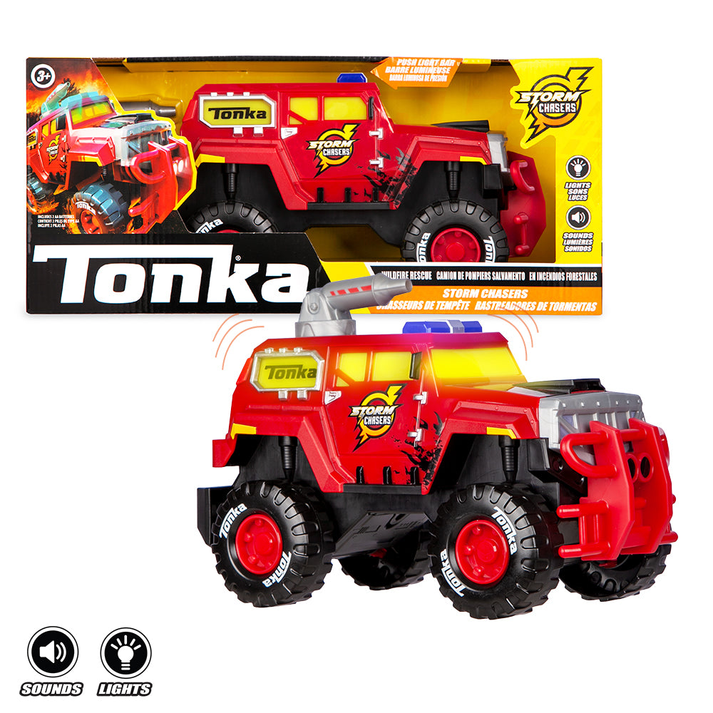 Storm Chaser Tonka Red