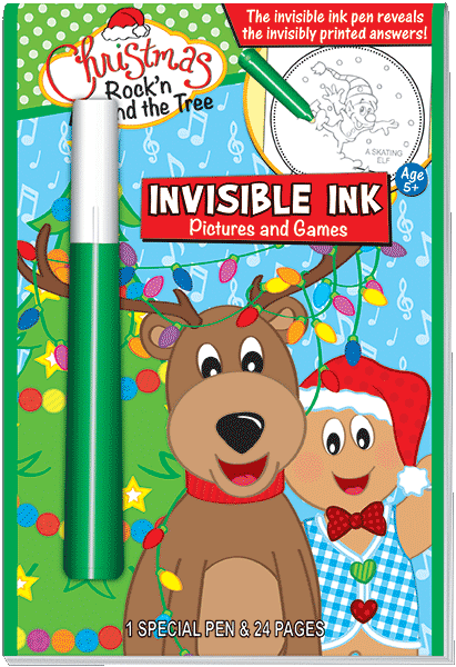 Invisible Ink Picture Book