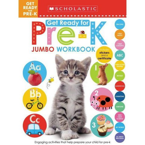 Get Ready for Pre-K Jumbo Workb