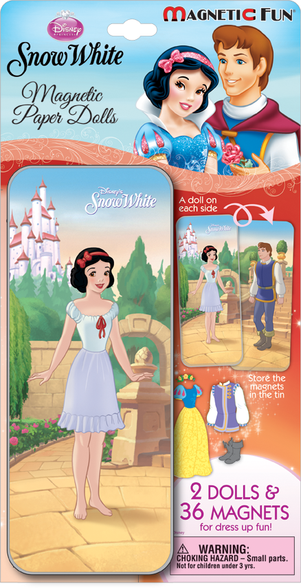 Snow White - Magnetic Paper Doll