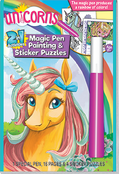 Unicorn Magic Pen Painting and